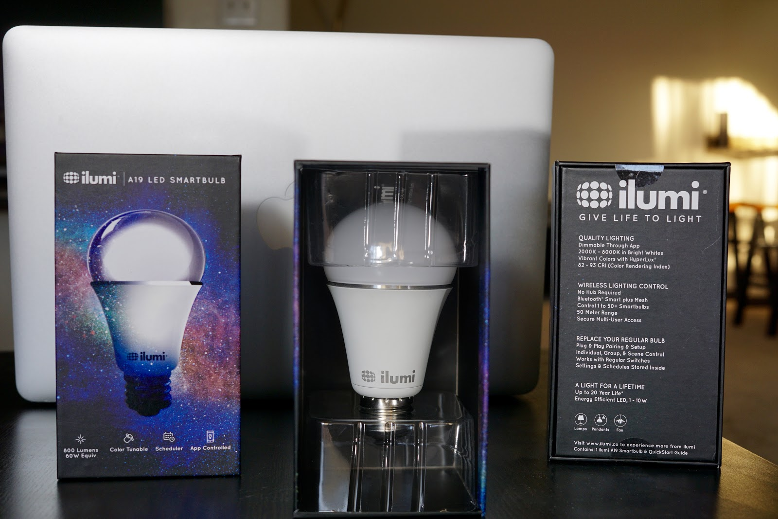 I Backed The New Ilumi Smartbulbs From Kickstarter. The Light Bulbs Are  Plenty Bright, The Color Range Looks Great, And The Bulbs Respond Fast From  The ...
