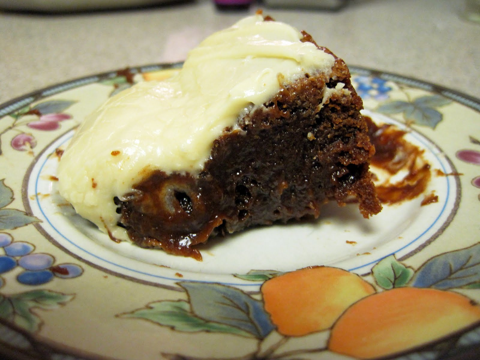 Kahlua Brownies with Browned Butter Kahlua Frosting | Skinny Muffin