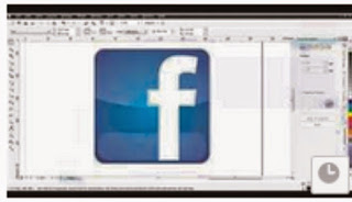 Tutorial Cara membuat Logo Facebook