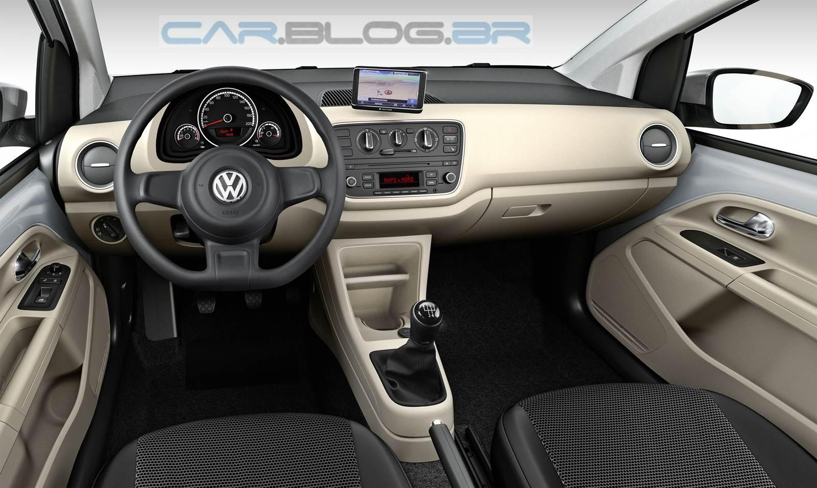 Volkswagen Up! -0 versão Move-Up - painel