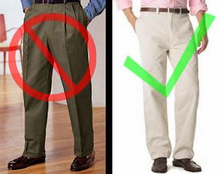 Cách giảm cân bằng trang phục cho nam giới