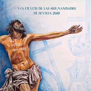 Itinerario Vía Crucis del Consejo General de Hermandades de Sevilla 2014