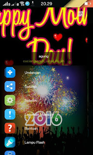 Tema BBM Mod 2016 Happy New Years