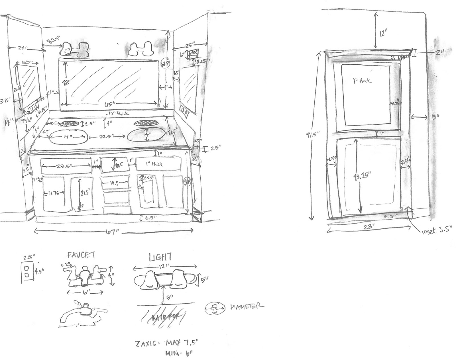 Inside the Frame: The Master Bathroom Project | The Design (Part 1)