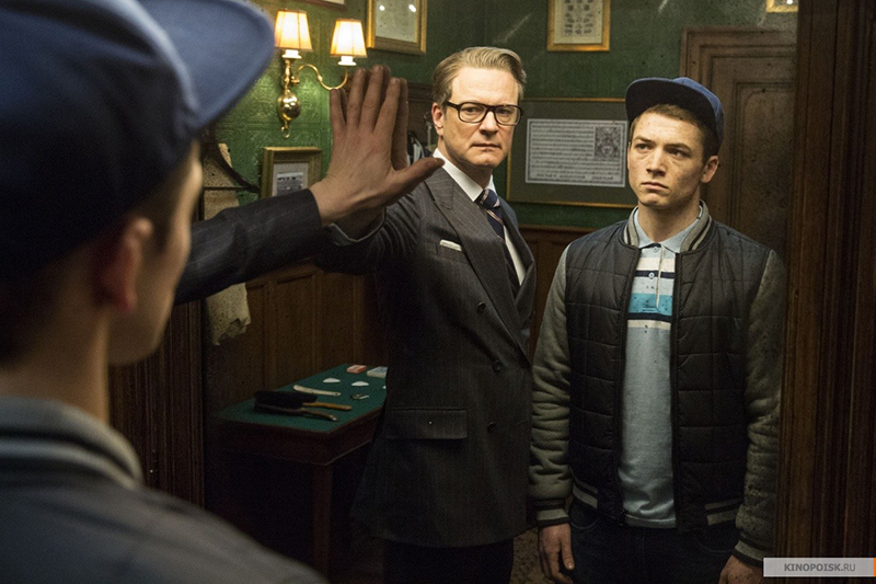 Kingsman: The Secret Service 2015 Galahad Eggsy film