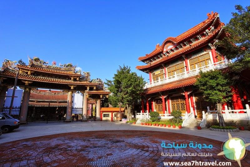 معبد المياه الصخرية فى كوانزو الصين