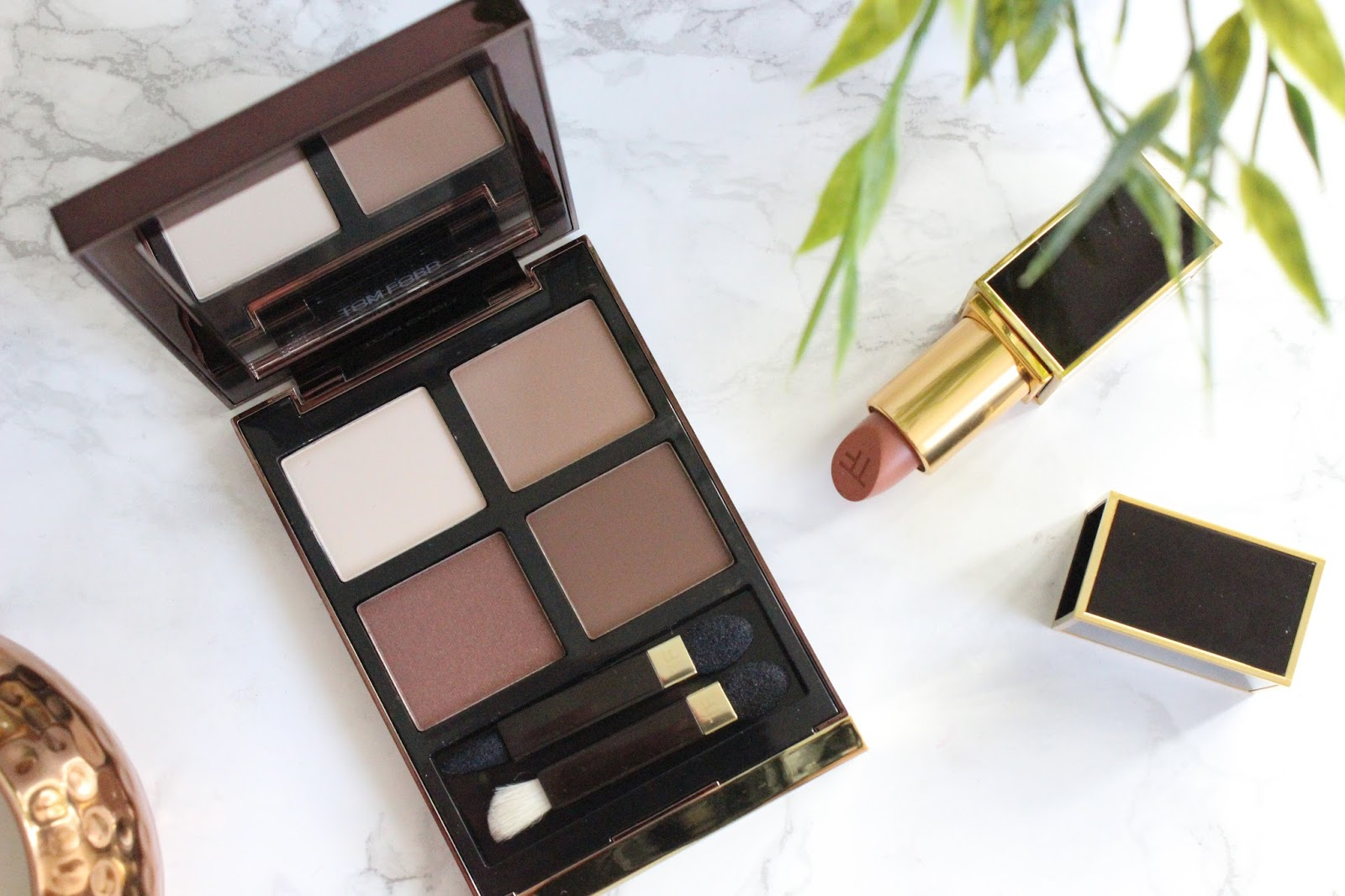 Tom Ford Eyeshadow Quad In Cocoa Mirage A Little Pop Of Coral