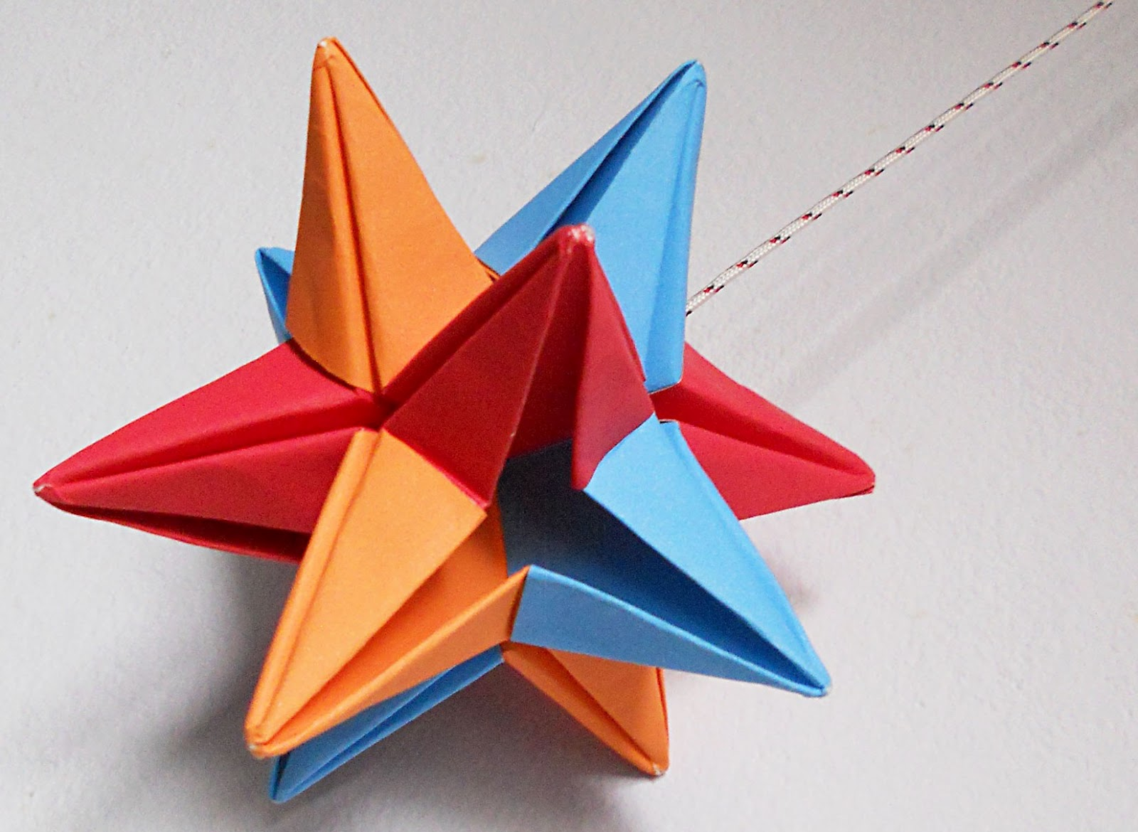 Mas origami febrero 2012 - Origami de una estrella ...
