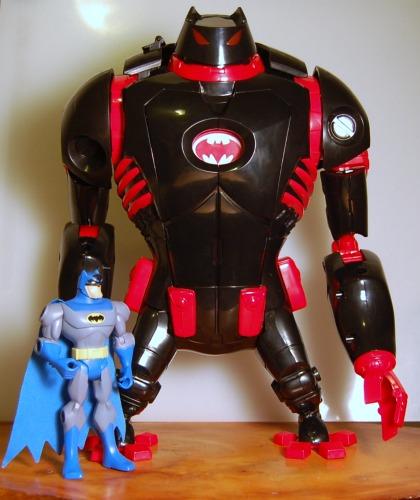 "BATMAN MCDONALDS BATBOT 2/"" TOY FIGURE CAKE TOPPER"