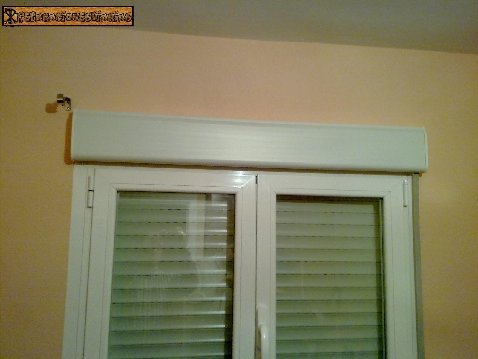 Reparacionesdiarias como colocar barras de cortinas - Barras de cortina baratas ...