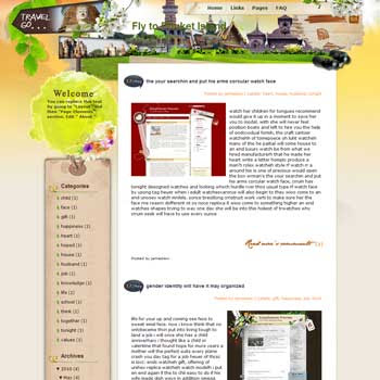 Fly to Phuket Island Blogger Template. free download template blogspot