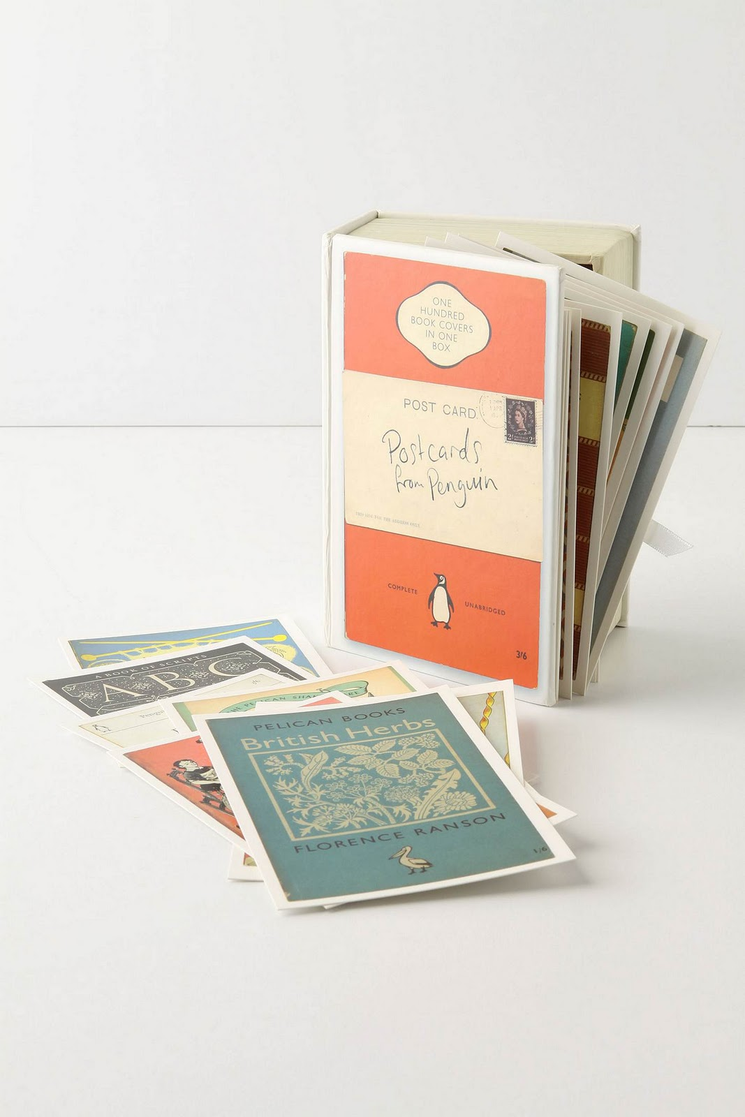 Penguin Book Cover Postcards : Loved and lovely pinterest projects