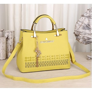 JESSICA MINKOFF DESIGNER BAG - YELLOW