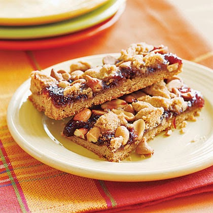 Get Your Recipe: Peanut Butter and Jelly Bars
