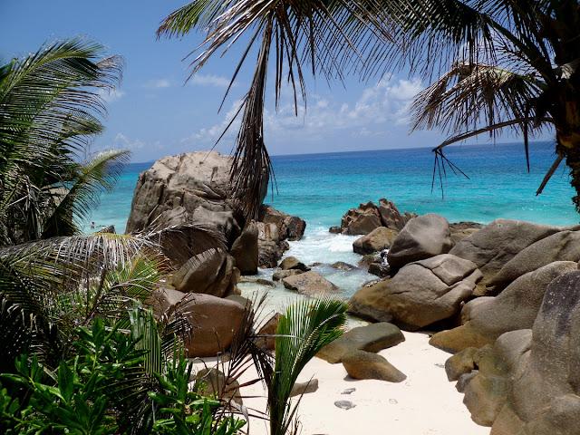 Anse Patatran Beach La Digue Seychelles
