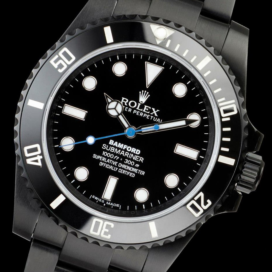 oceanictime rolex submariner no date by bamford. Black Bedroom Furniture Sets. Home Design Ideas