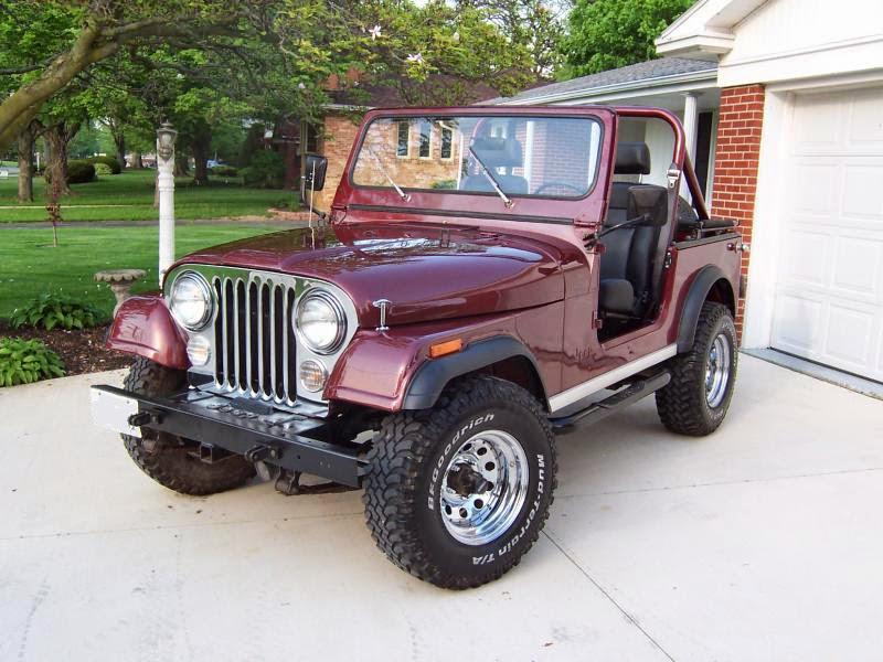 Modifikasi Mobil Jeep CJ-7 Tahun 82