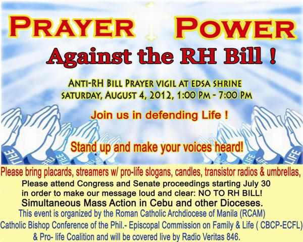 a stand against rh bill Right at the outset, i would like to be clear as to where i stand in this issue: i am  against the rh bill yes, i am a hard core catholic and at the.