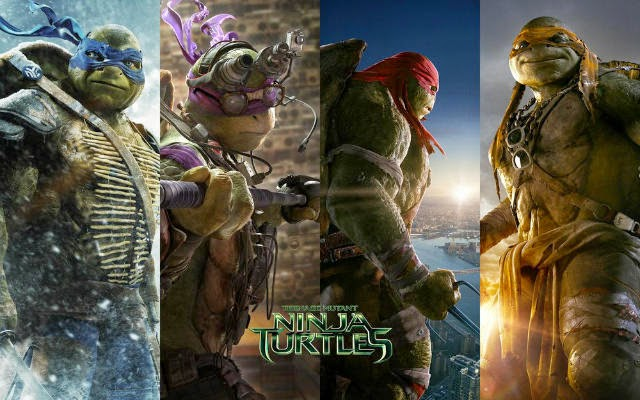 Filme: Tartarugas Ninjas 2014