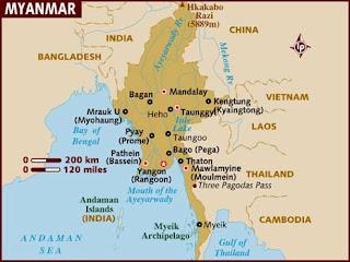 sejarah perkembangan islam di myanmar