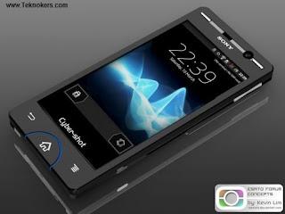 Sony cybershot android, ponsel kamera android terbaik, hp kamera tercanggih, android berkamera bagus