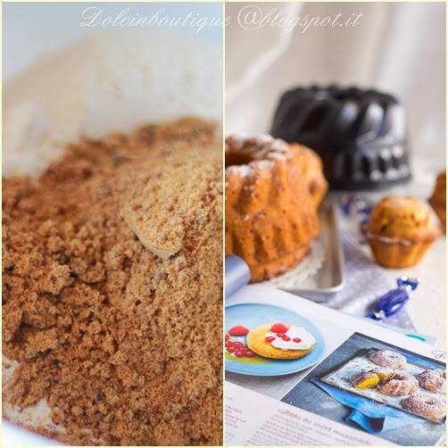 cake di mandorle e zucchero muscovado