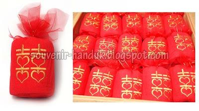 Souvenir Handuk Shuang Shi Xuang Shi