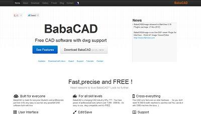 BabaCAD, CAD Software