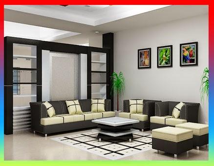Desain ruang tamu minimalis, ruang keluarga modern