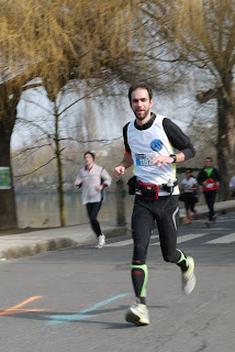 Rueil-Malmaison semi-marathon des Lions 2013 : bord de seine