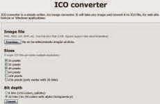 Ico Converter: para convertir imágenes en jpg, png, gif y bmp a ico