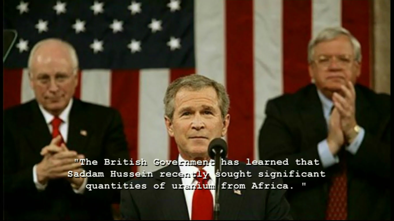 bushs speech before the war on iraq Bush-41 finally speaks on iraq war before bush got back in town during a speech in a special joint session of the us congress given on 11 september.