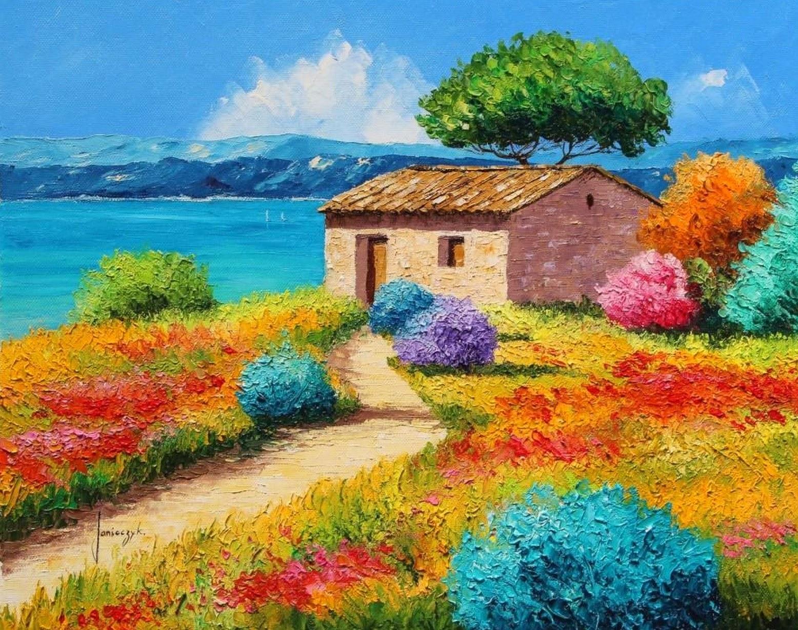 Im genes arte pinturas pinturas decorativas de paisajes - Decorarte pinturas ...