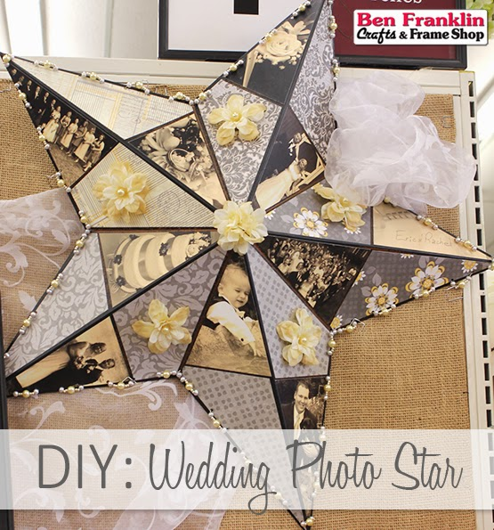 DIY Metal Star Photo Collage