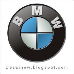 Gambar final desain vektor logo BMW by desainew