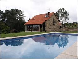 Casas completas galicia alquiler de vacaciones casa de alquiler con piscina en pontevedra - Piscinas en pontevedra ...