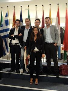 Bruxelles: Parlamento Europeo con il gruppo della Calabria