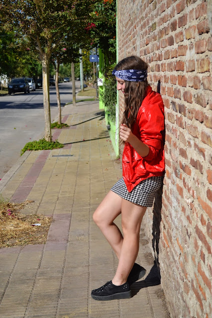 punk, grunge look, outfit, fashion blogger, fashion blogger argentina
