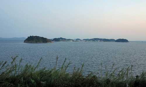 View of Shinojima, Aichi.