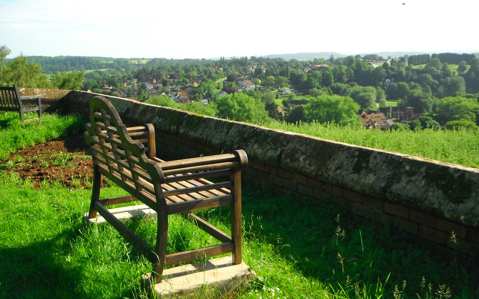 View from Kinver Churchyard