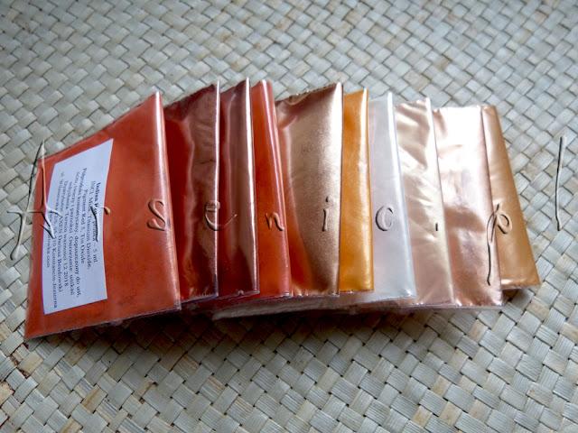 Rozgrzewka! Pomarańczowe pigmenty z Kolorówka.com