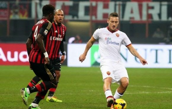 AS Roma vs AC Milan Serie A