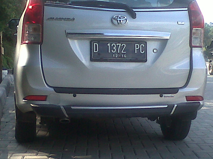 Syarat / jenis kendaraanya :