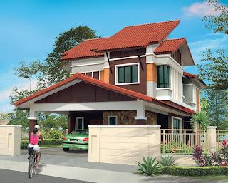 ... Rumah Minimalis Type 36 2 Lantai Rumah - gambar rumah banglo 1 tingkat