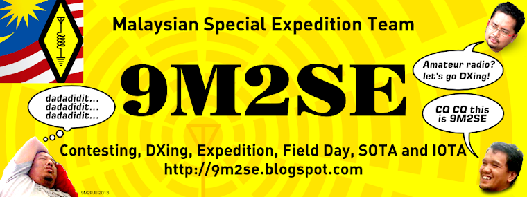 9M2SE - Malaysian Special Expedition Team