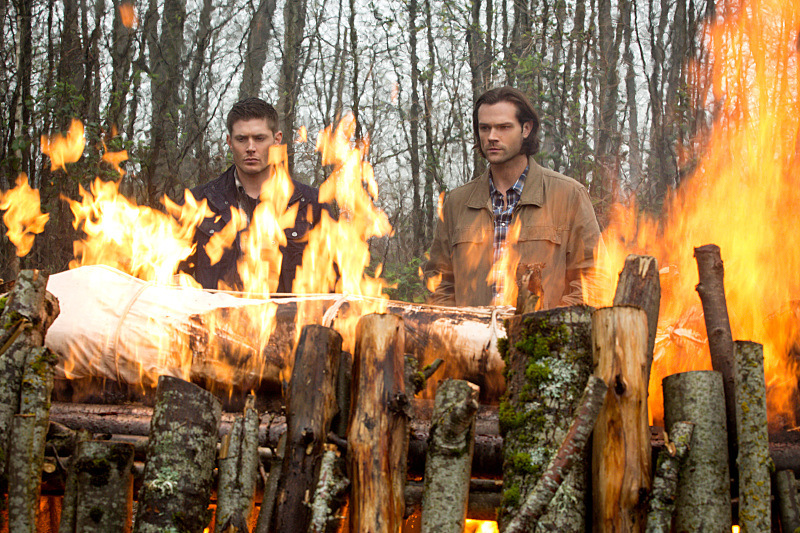 Recap/review of Supernatural 10x22 'The Prisoner' by freshfromthe.com