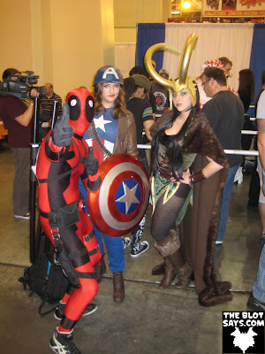Wizard World New Orleans Comic-Con 2012 - Deadpool, Captain America & Loki