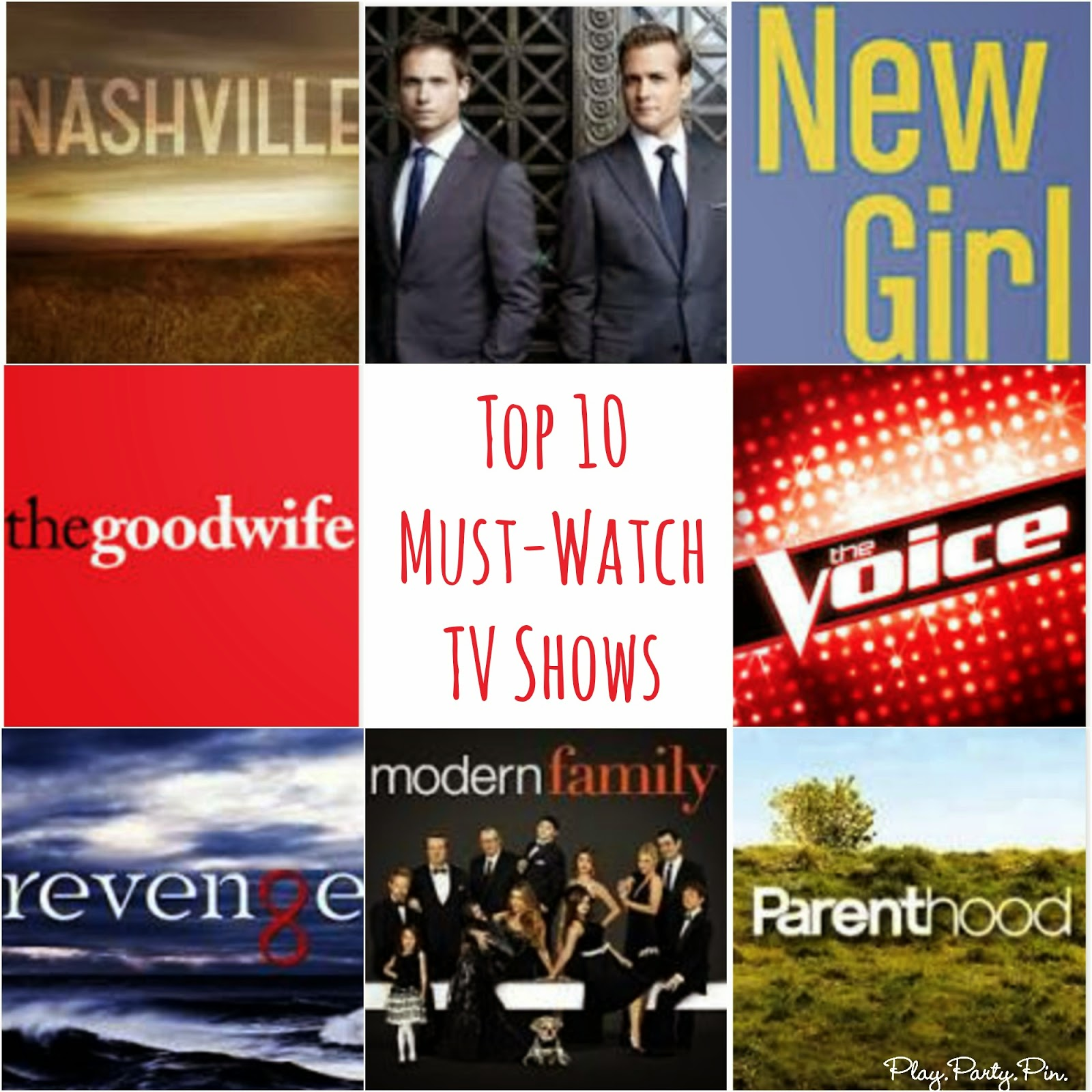 10 must-watch TV shows right now, love all of these #TV #ad