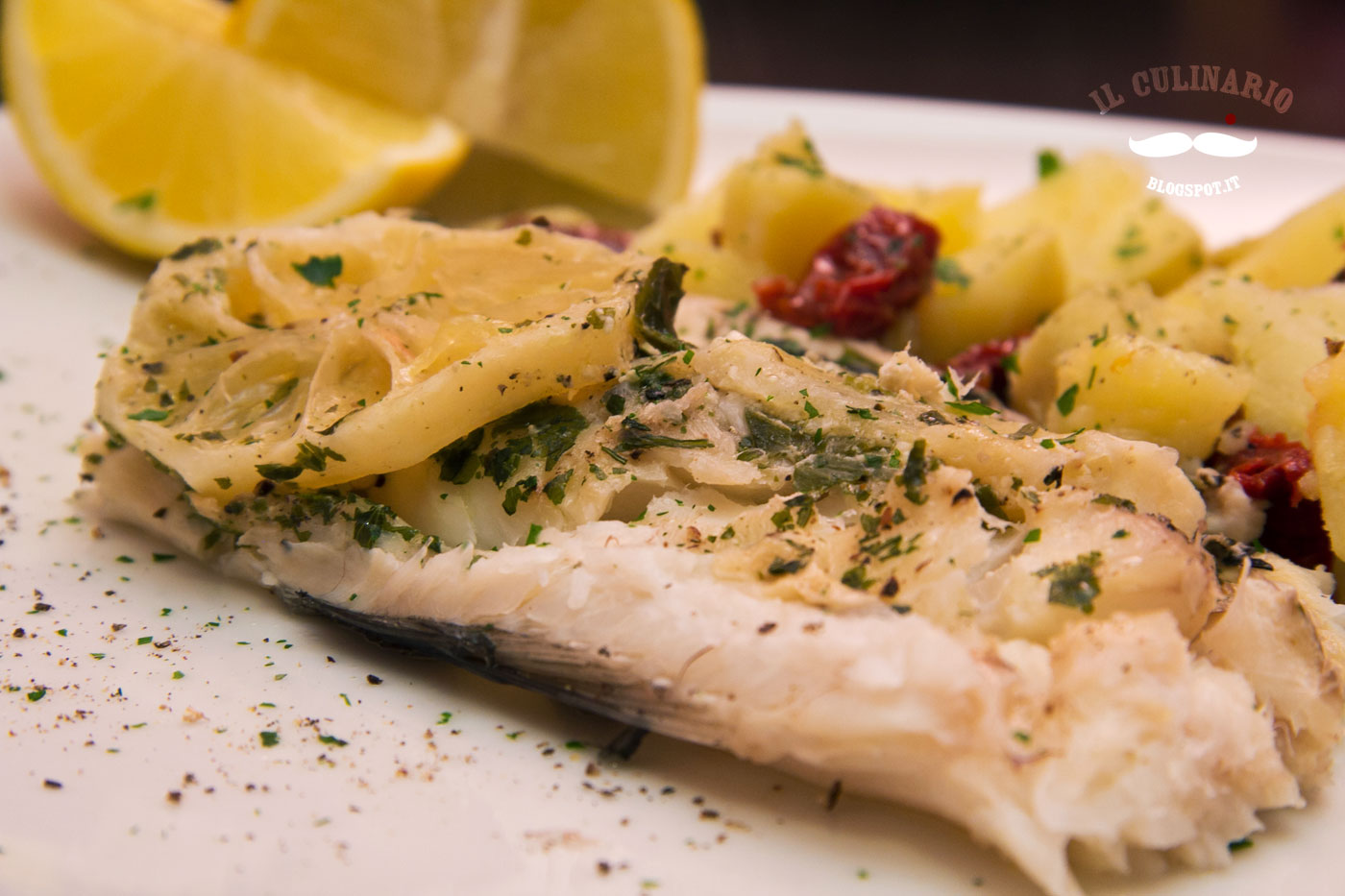 Cartoccio di merluzzo agli aromi | Il Culinario