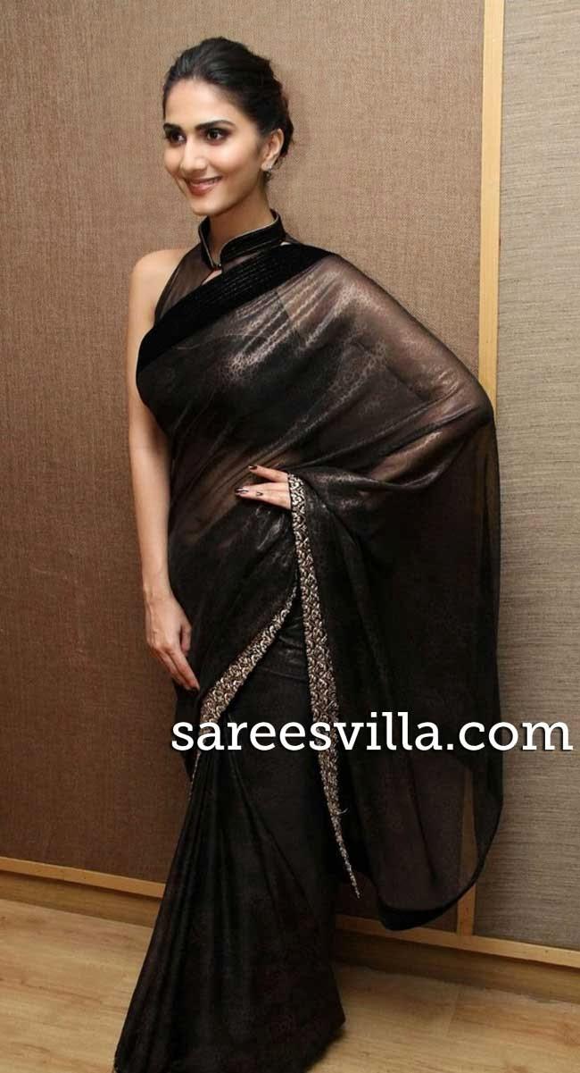 Vaani Kapoor In Stylish Blouse Blouse